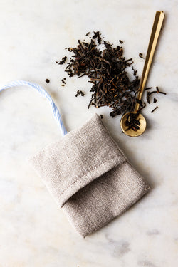 Kitchen Garden Series linen tea bags