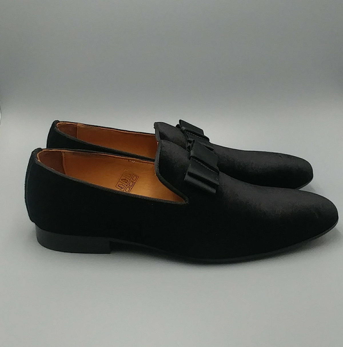 Luxury Velvet Bow Slip-ons