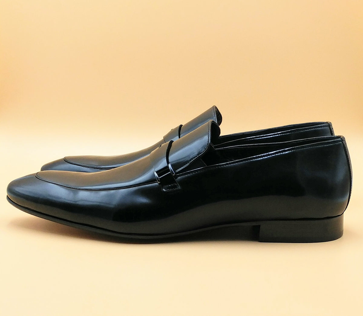 Black Smart Casual Loafers