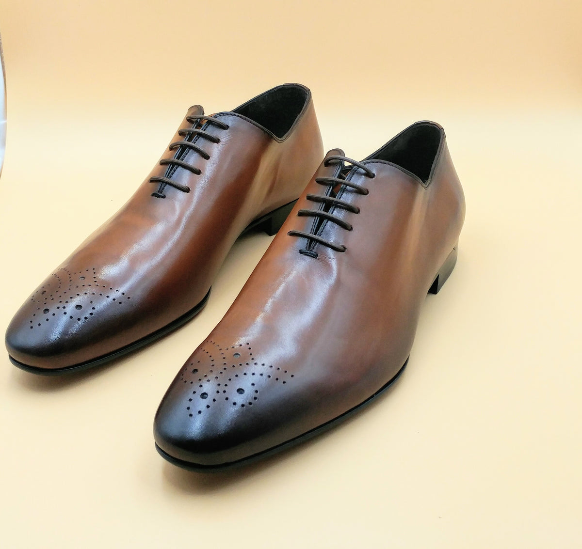 Burnish Wholecut Oxford