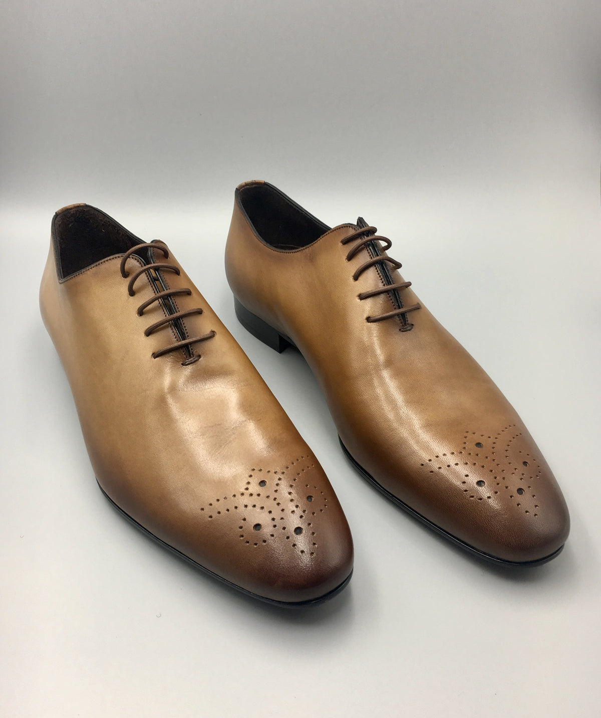 Tan Oxford Wholecut