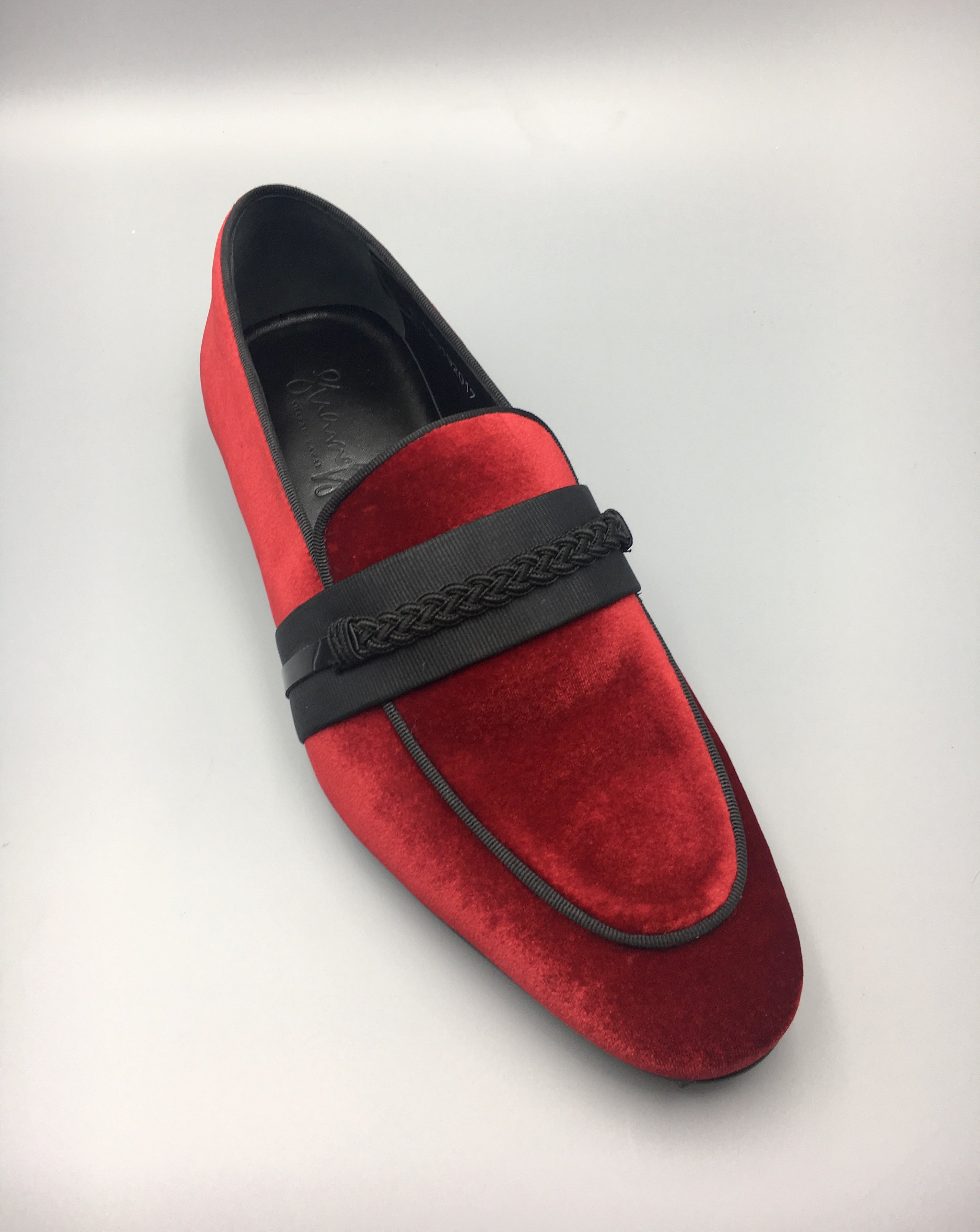 Red Luxury Loafers