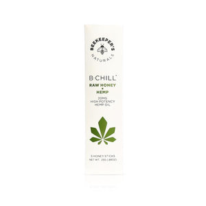 Beekeeper's Naturals B. Chill Hemp Honey Sticks
