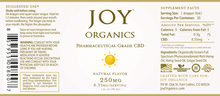 Load image into Gallery viewer, Joy Organics CBD Oil Tincture - 250mg