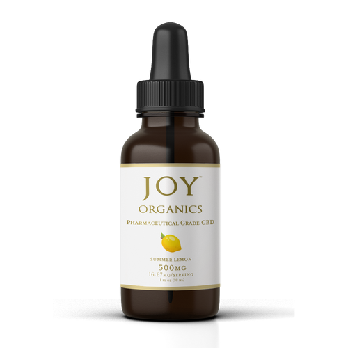 Joy Organics CBD Oil Tincture - 500mg