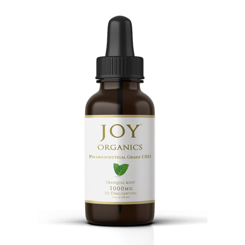 Joy Organics CBD Oil Tincture - 1000mg