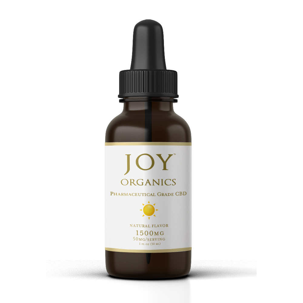 Joy Organics CBD Oil Tincture - 1500mg