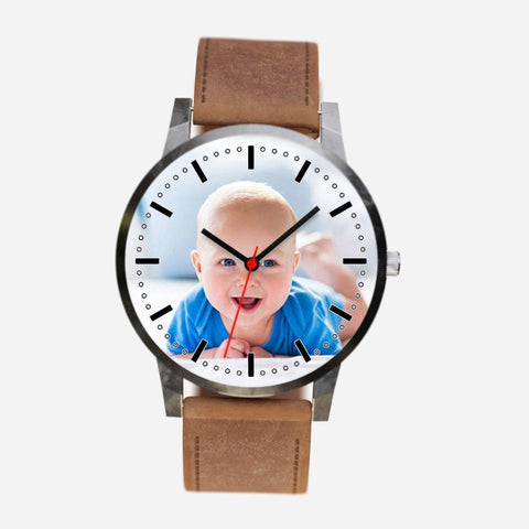 Image of Buy Personalized Baby Photo Watch From Joseod Jewelry