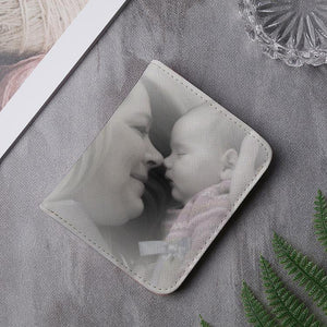 Custom Photo Multi-Card Short Bifold Wallet