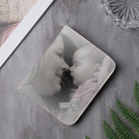 Buy Custom Photo Multi-Card Short Bifold Wallet From Joseod Jewelry
