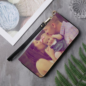 Custom Photo Long Clutch Purse
