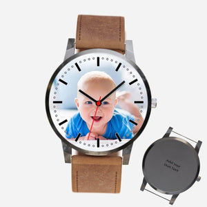 Personalized Baby Photo Watch