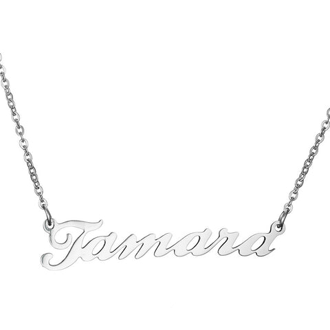 Buy Stylish Font Nameplate From Joseod Jewelry