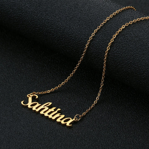 Image of Buy Romantic Gift Name Necklace From Joseod Jewelry