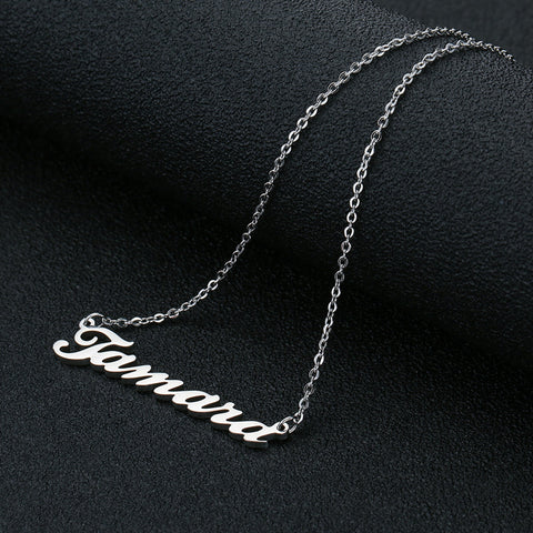 Buy Romantic Gift Name Necklace From Joseod Jewelry