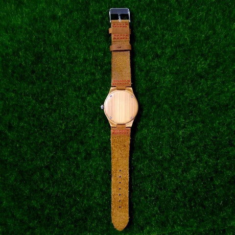 Image of Shop Bamboo Custom Photo Watch From Joseod Jewelry