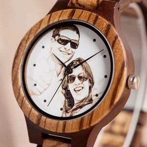 Joseod Custom Wood Watch + Free Box