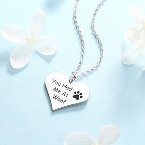 Personalized Lady Memorial Necklace