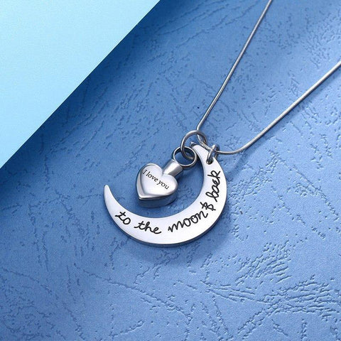 Image of Shop Custom Stainless Steel Memorial Necklace From Joseod Jewelry