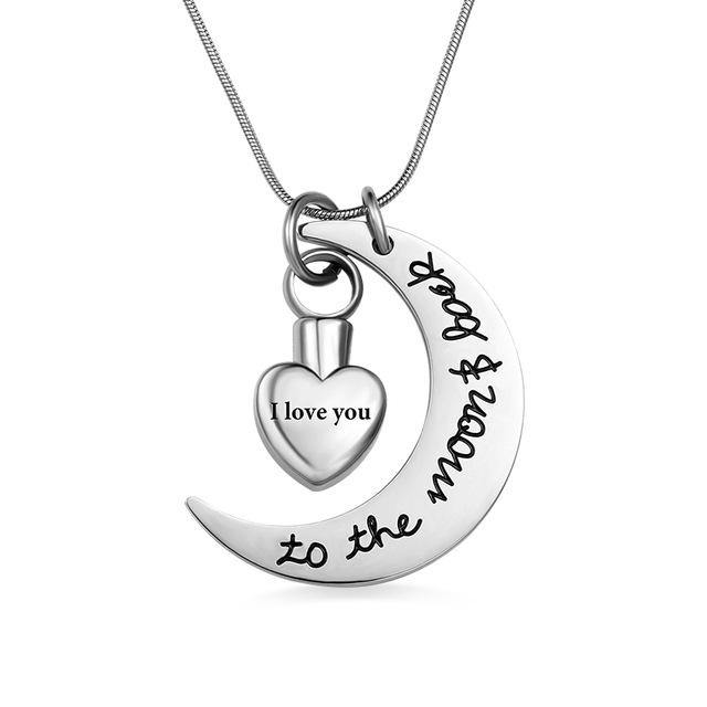 Shop Custom Stainless Steel Memorial Necklace From Joseod Jewelry