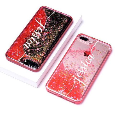 Buy Sparkling DIY Name Phone Case From Joseod Jewelry