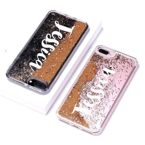 Sparkling DIY Name Phone Case