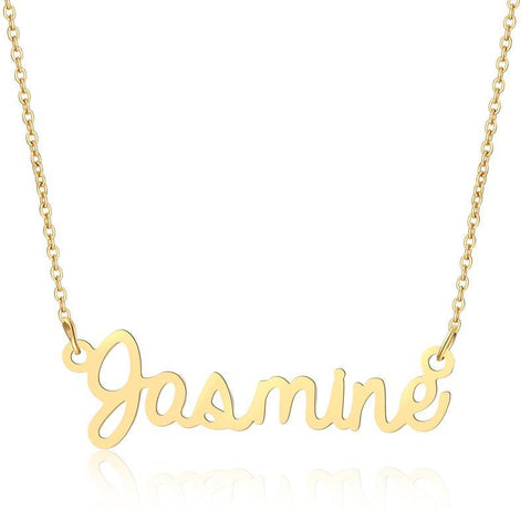 Image of Buy Custom Name Dainty Necklace From Joseod Jewelry