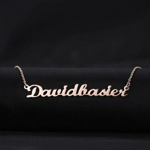 Custom Name Dainty Necklace