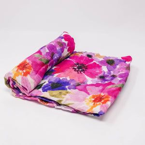 Deluxe Muslin Swaddle - Blossom
