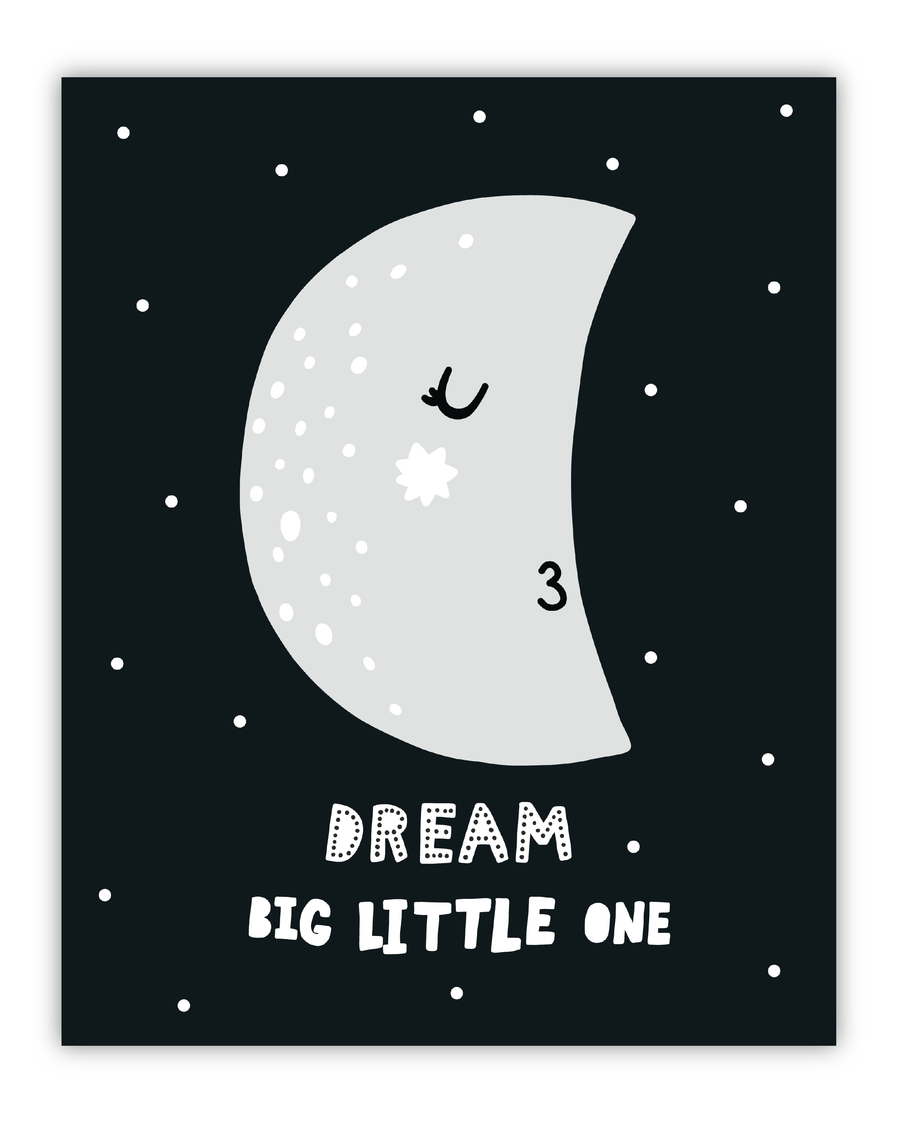 Digital Print Wall Art - Dream Big
