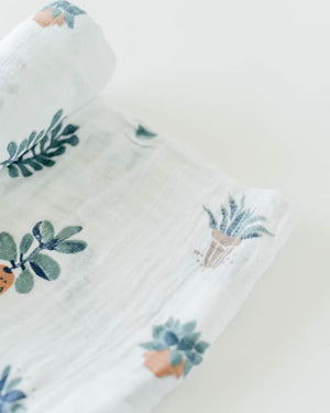 Cotton Muslin Swaddle Blanket - Prickle Pots