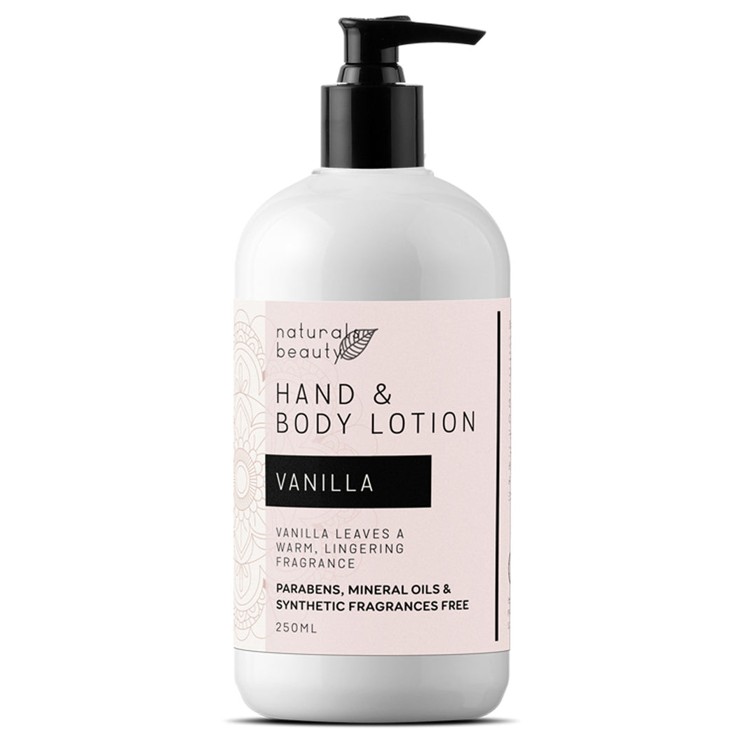 Vanilla Hand & Body Lotion