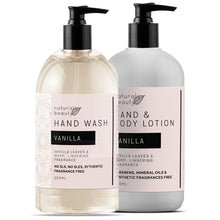 Load image into Gallery viewer, Vanilla Hand Wash & Lotion Set