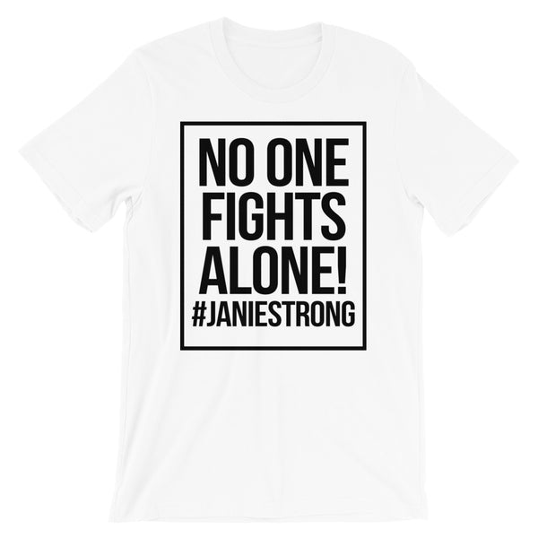 No One Fights Alone T-Shirt (White)