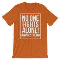 No One Fights Alone T-Shirt (Multiple Colors)