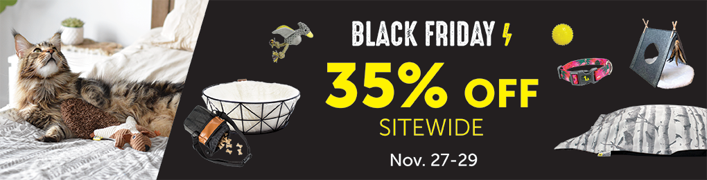 35% off on all products from November 27 to November 29