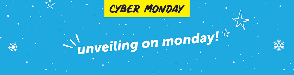 Cyber Monday unveiling on monday