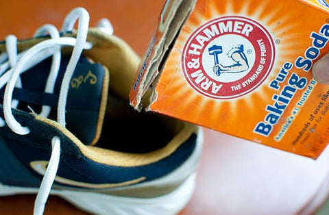 baking soda shoe cleaning