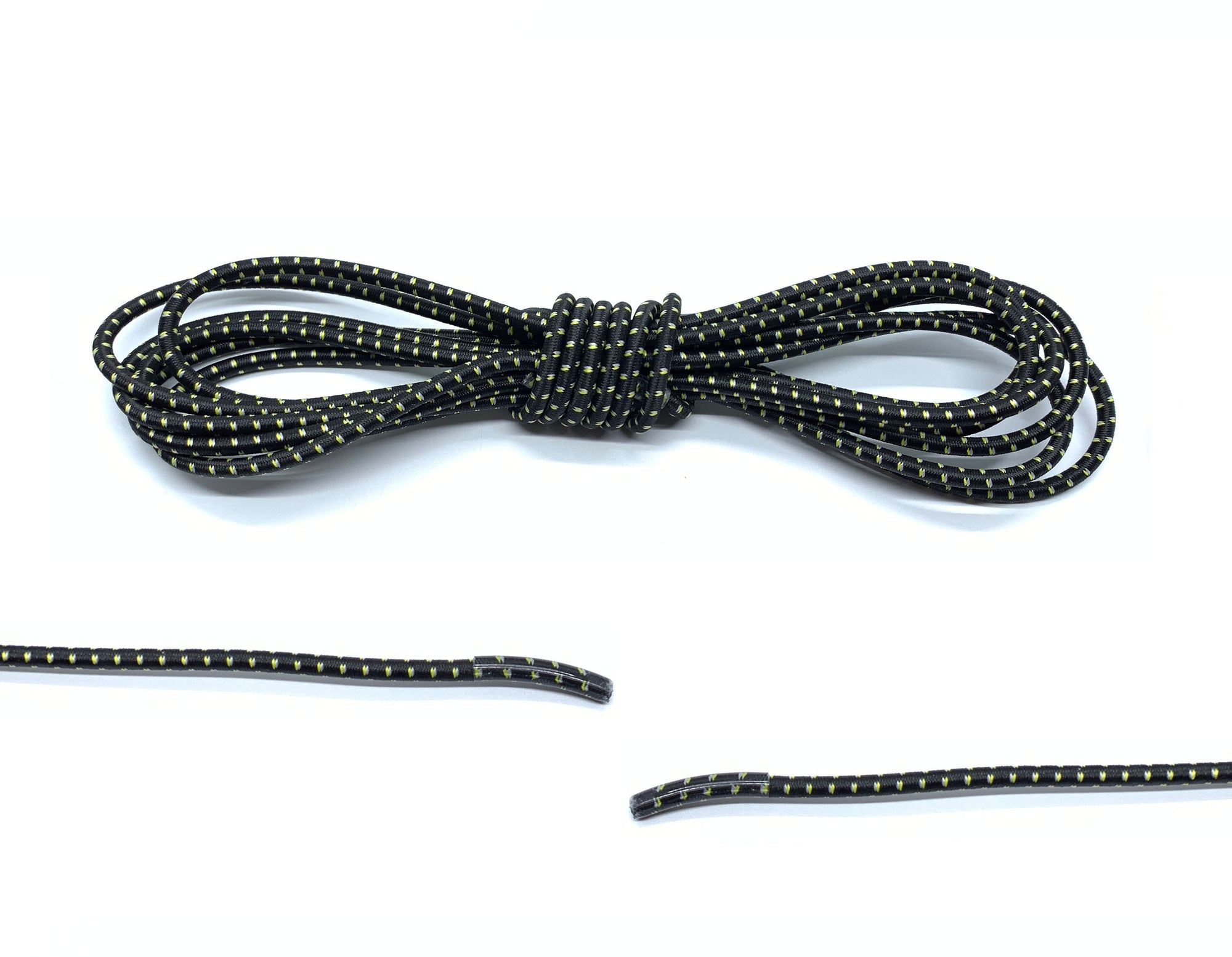 Black / Yellow Elastic Laces - Belaced