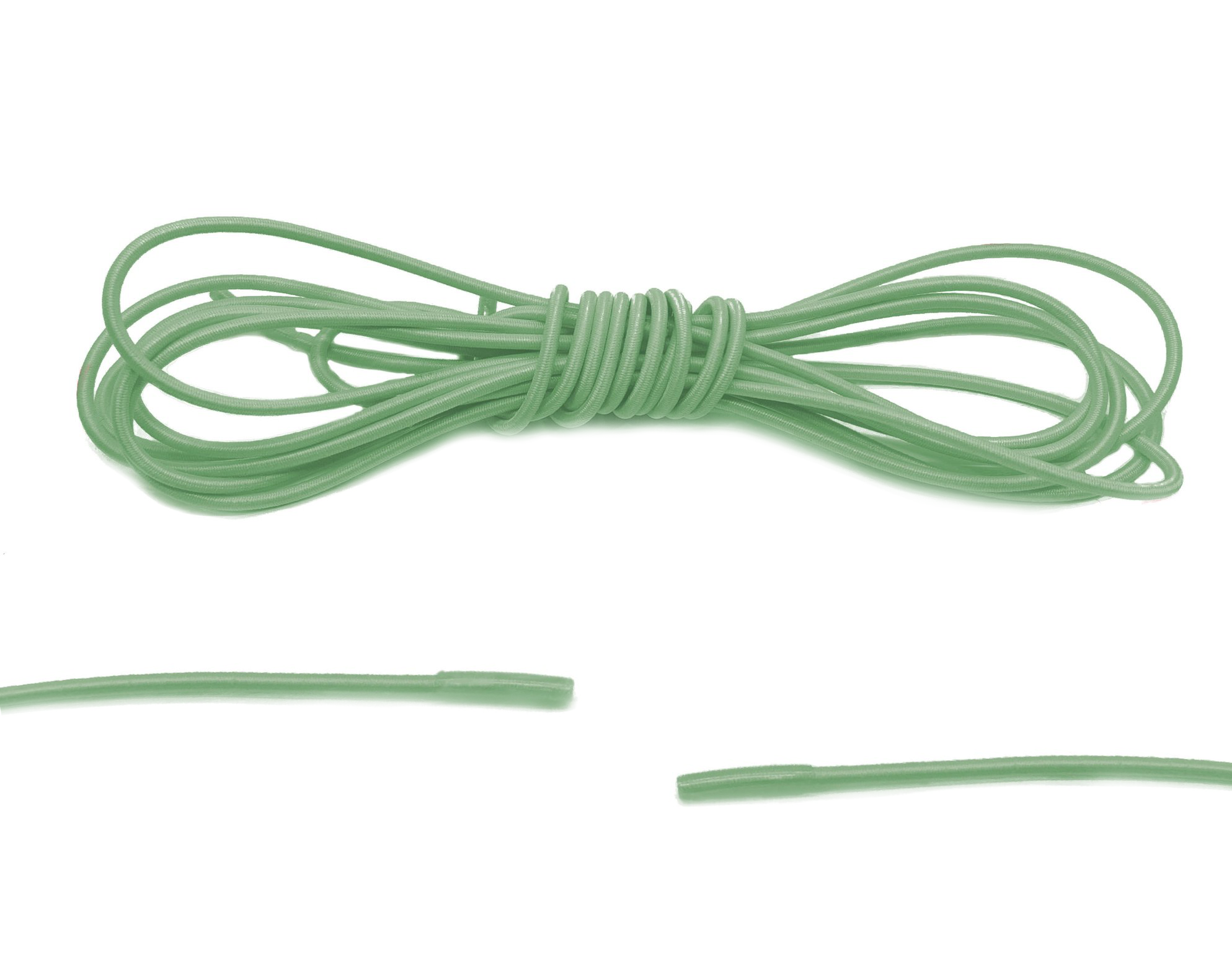 Lime Green Elastic Laces - Belaced
