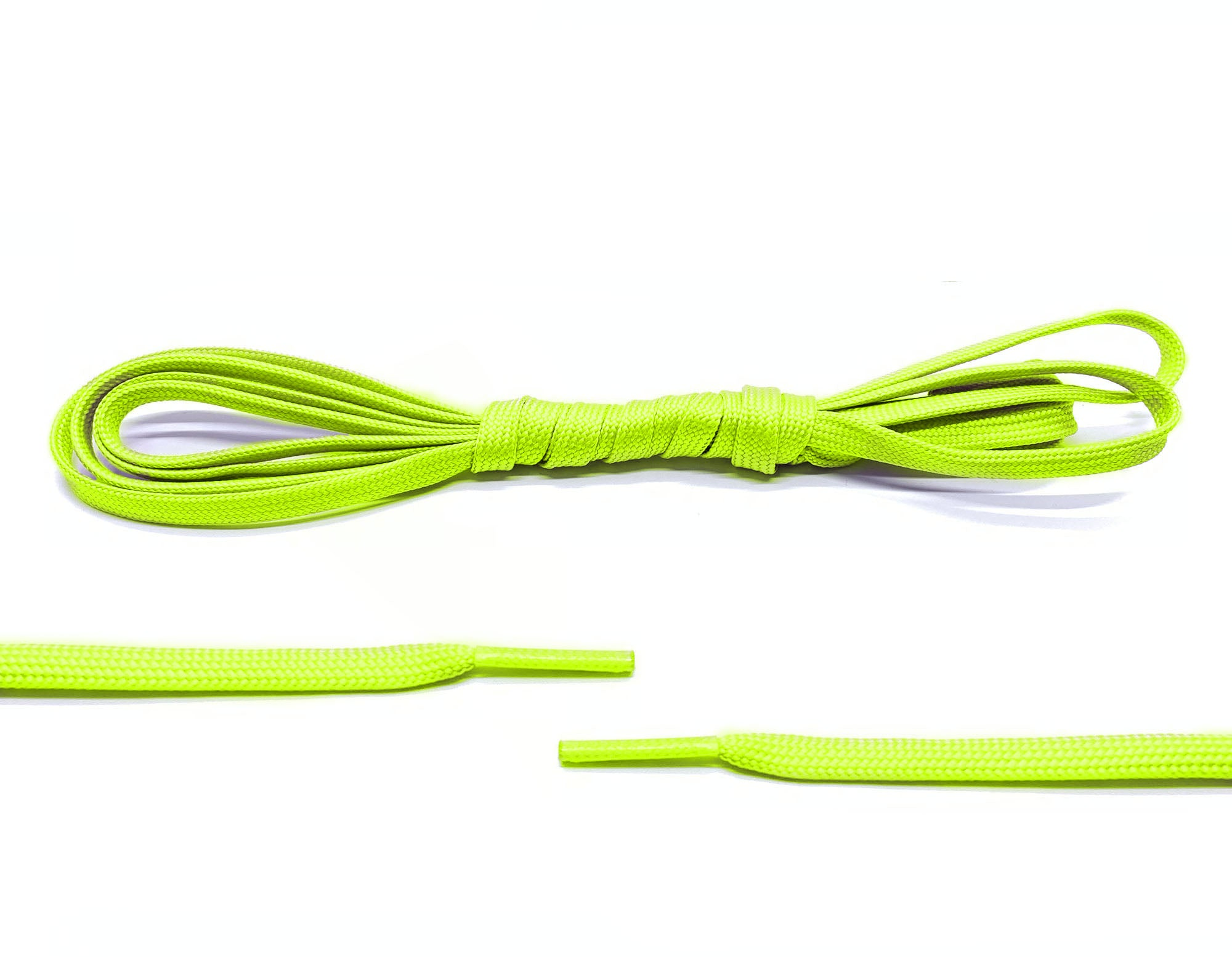 Green Glow In The Dark Laces - Belaced