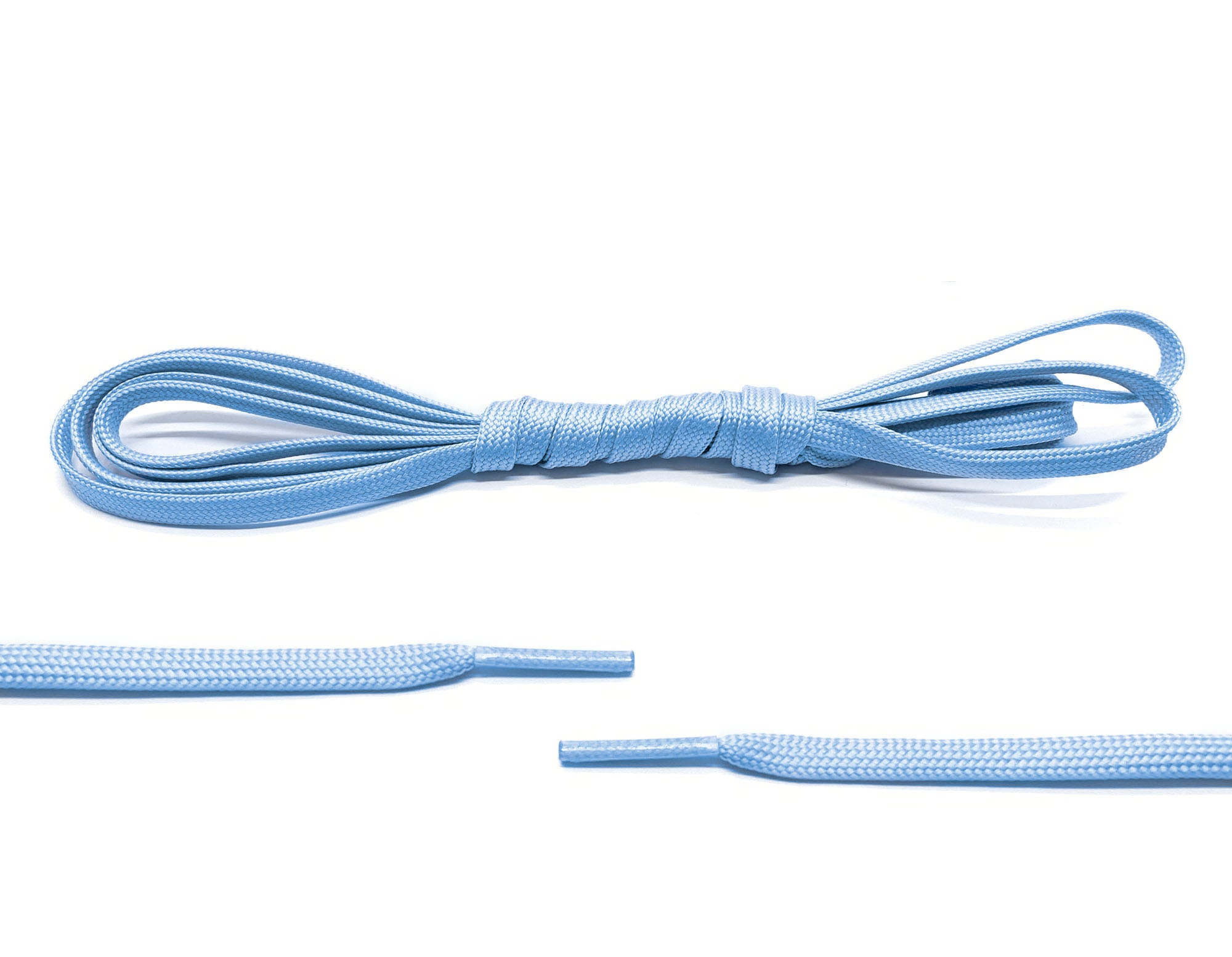 Sky Blue Glow In The Dark Laces - Belaced