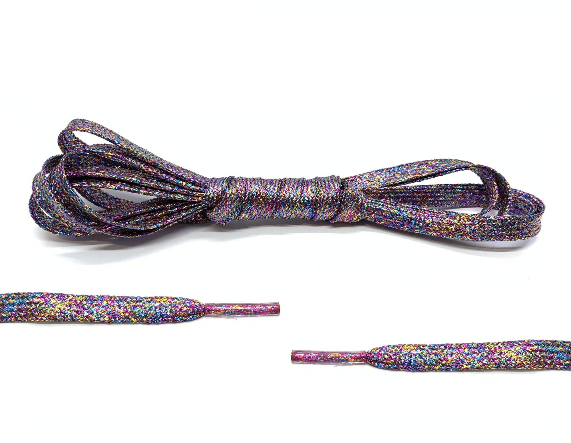 Rainbow Metallic Laces - Belaced