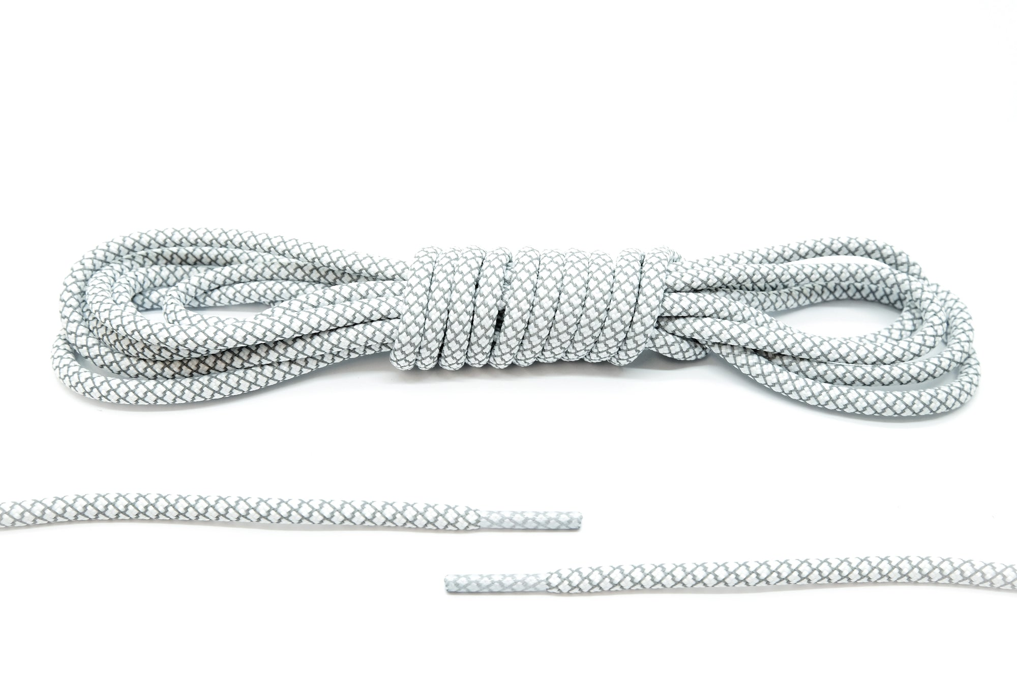 White Rope Laces (Reflective) - Belaced
