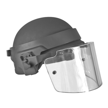 Trojan Ballistic Visor with band adjustable strap