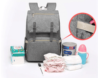 Fashion Waterproof Laptop Diaper Bag