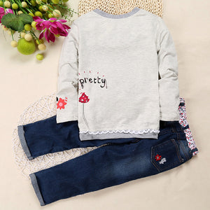 Cute Girl 2PCS Set