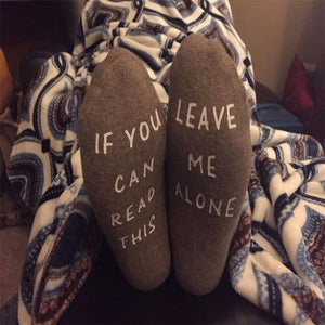 Cottage Style  If you can read this....socks