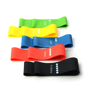 Fitness Resistance Rubber Bands