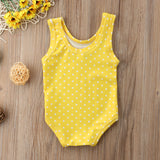 Baby Girl Pineapple One-Piece Swimsuit